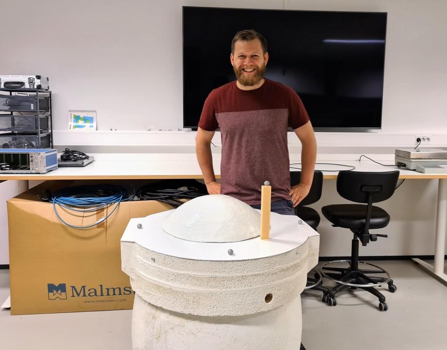 Mondag 15. juni tiltrer Jens Martin Gjærum (27) i stillinga som Hauge Aqua sin nye byggeoppfylgingsingeniør. Foto: Hauge Aqua.