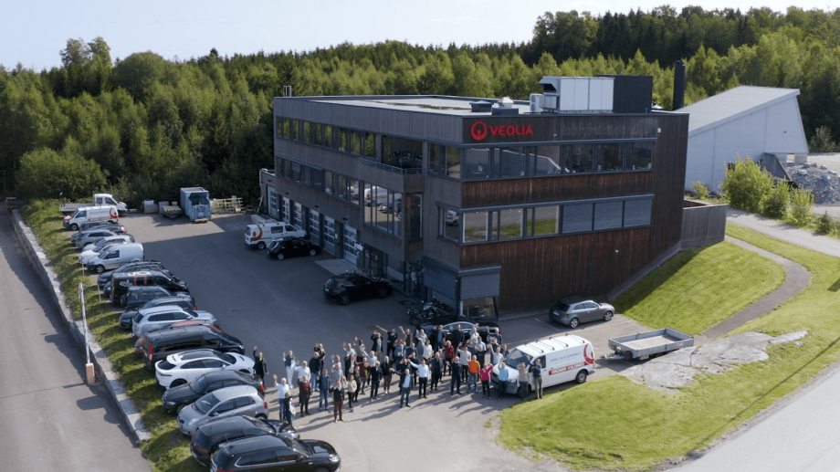 The Krüger Kaldnes aquaculture division has been bought by Pure Salmon owner 8F Asset Management. Photo: Veolia.