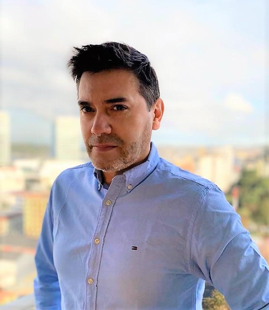 Sergio Contreras, Jefe Departamento Salud Hidrobiológica del IFOP. Foto: Sergio Contreras.