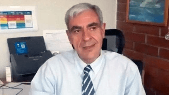 Claudio Baez takes over as national director of Chile's state aquaculture agency, Sernapesca, from July 1. Photo: Sernapesca.