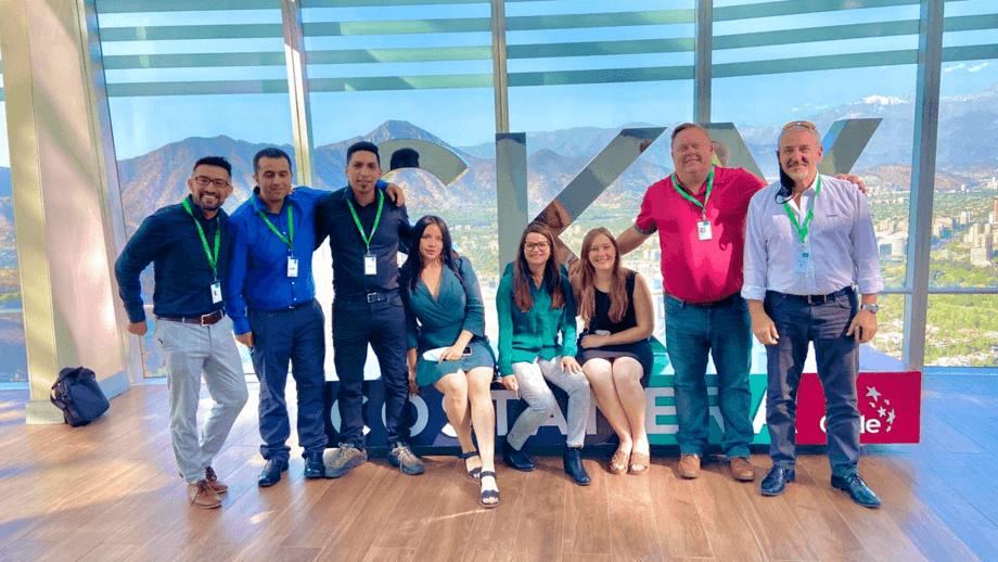 Parte del equipo de Neogen Chile. Foto: Neogen.