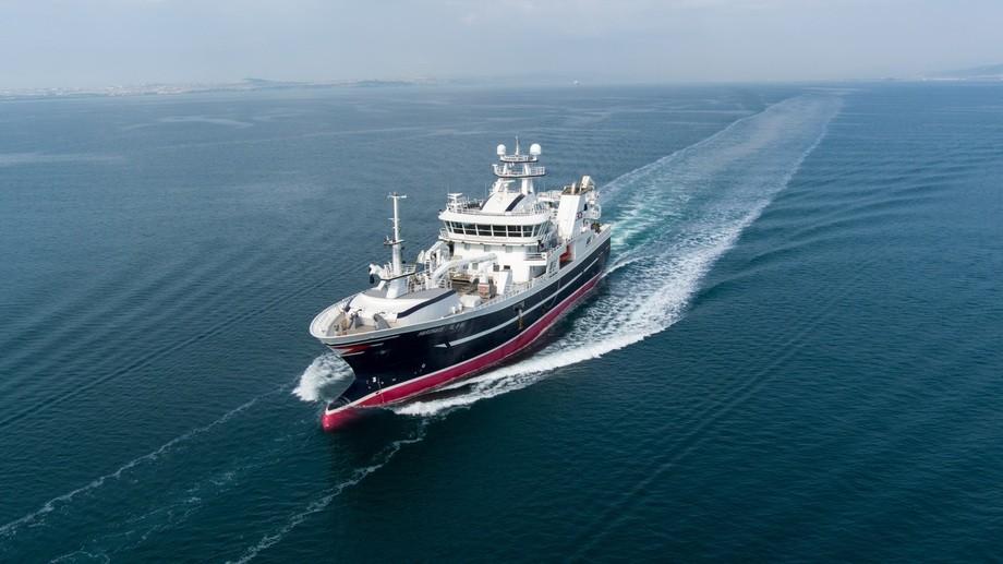 Cemre Shipyard har overlevert «Hardhaus» til Austevoll-rederiet med samme navn. Foto: Cemre Shipyard