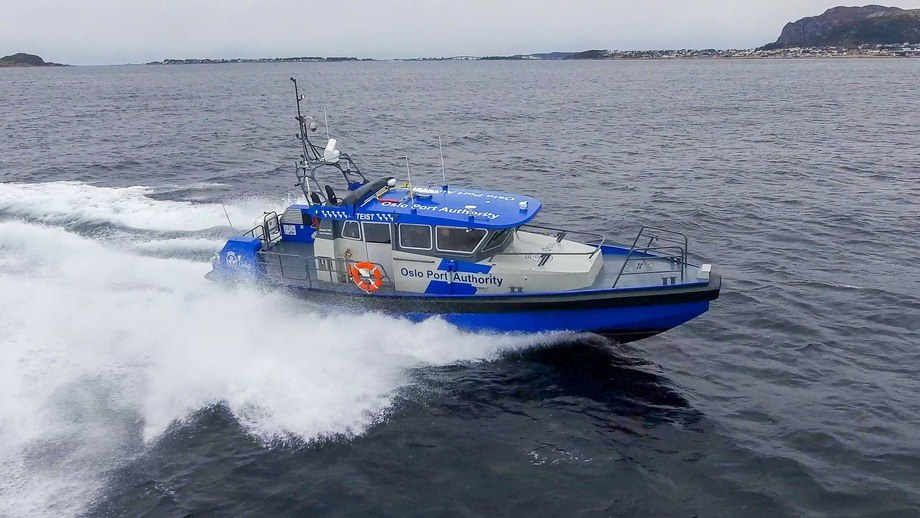 MS «Teist» er overlevert fra Maritime Partner til Oslo Havn KF. Foto: Maritime Partner