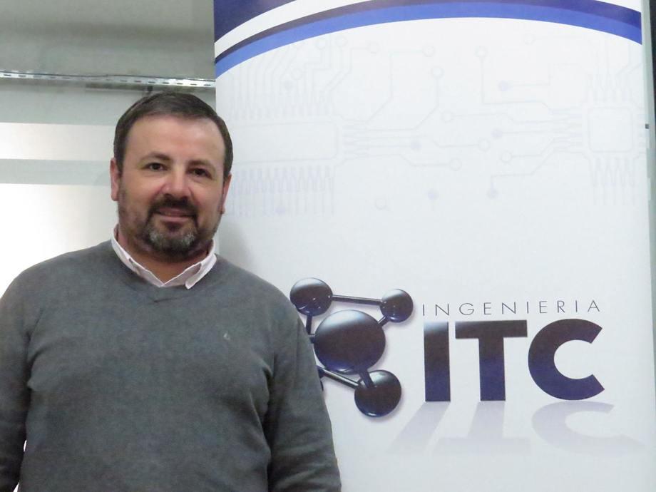 Rodrigo González, gerente Técnico de ITC Ingeniería. Foto: ITC Ingeniería.