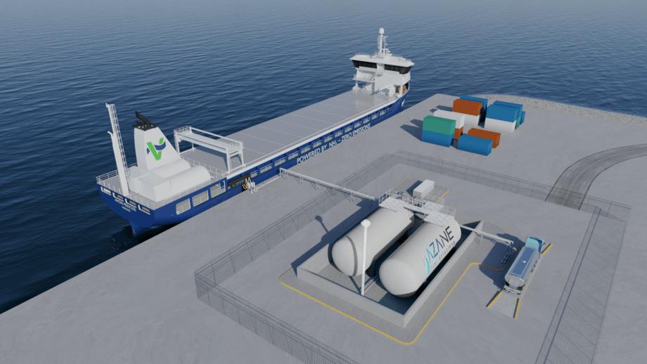 Illustrasjon: Azane Fuel Solutions