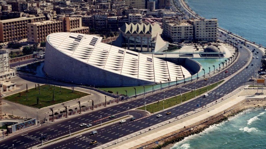 The Alexandrina Bibilotheca library and convention centre in Alexandria, Egypt, will host Aquaculture Africa 2021 in December, even though just 1% of the African population has been fully vaccinated against the virus.