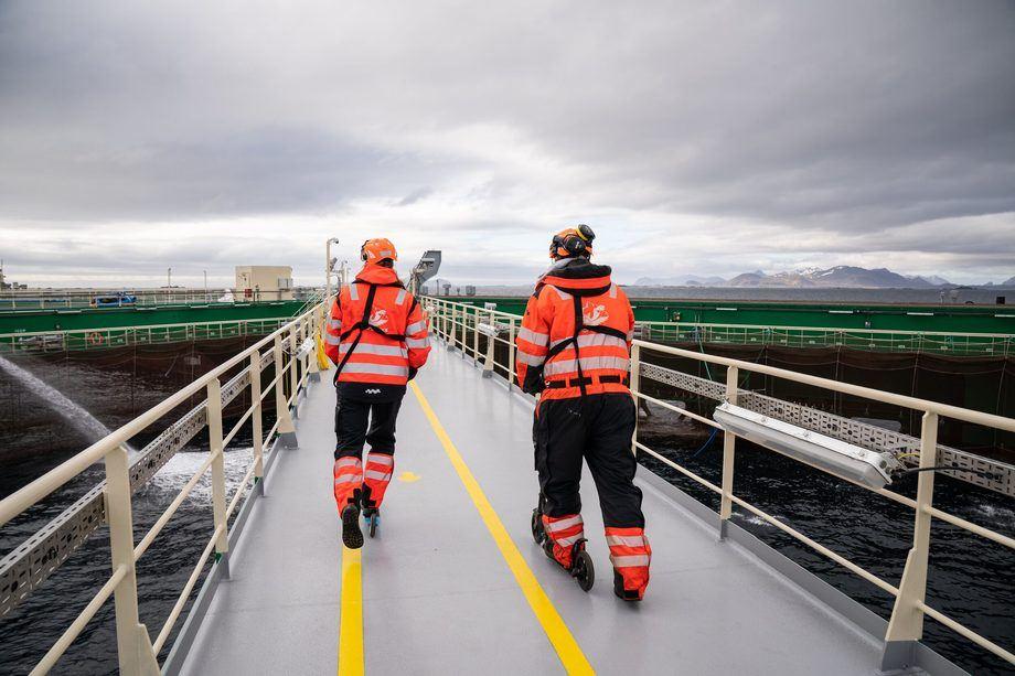Nordlaks har lagt bak seg et spesielt år, preget både av store milepæler og starten på en global pandemi. Foto: Nordlaks/Deadline Media