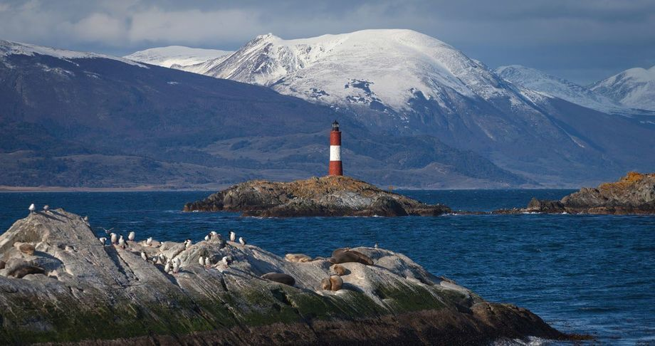 Foto referencial del canal Beagle. Imagen: Chile Travel.