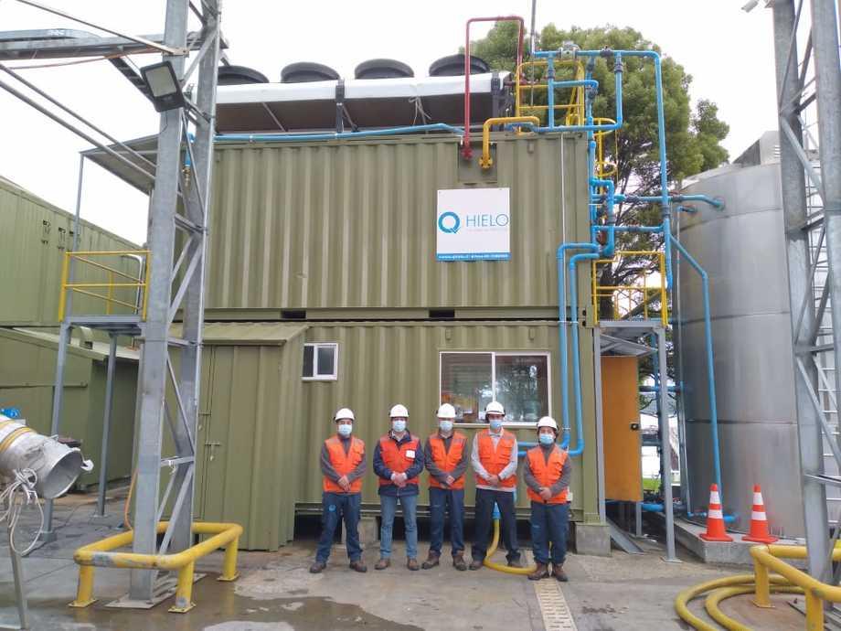 La compañía cuenta con más de 20 plantas de Flow Ice. Imagen: Qhielo.