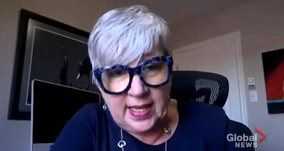 Canadian fisheries minister Bernadette Jordan. Image taken from Global News video.