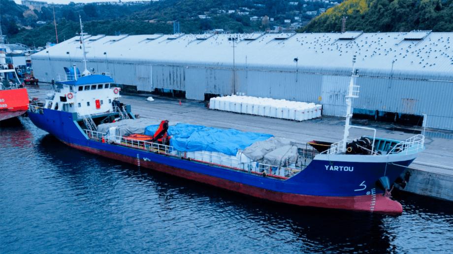 Embarcación de Naviera Selknam tiene 55 metros de eslora por 11 de manga. Foto: Naviera Selknam.