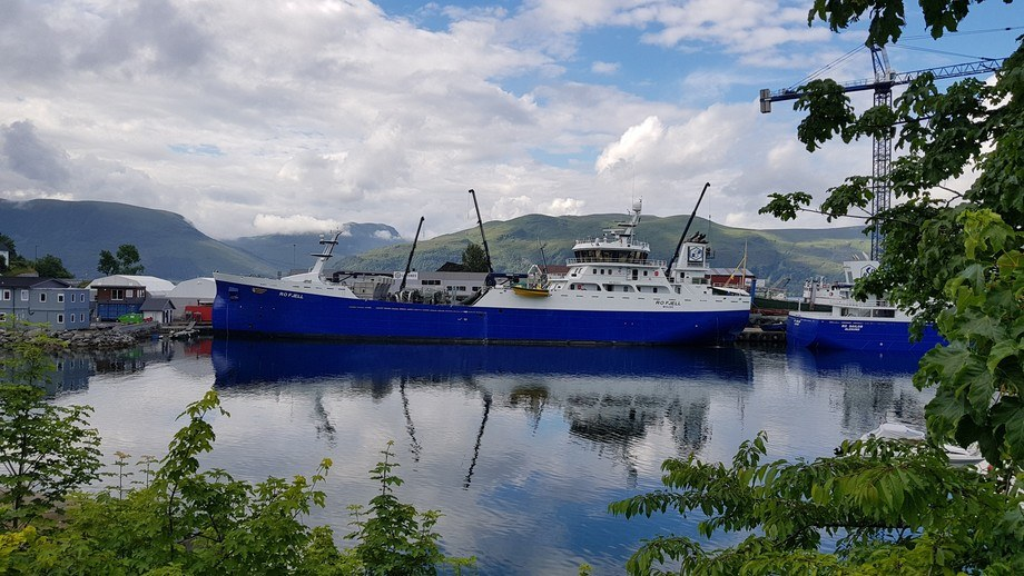 Smir will deliver 16 new lines to SalMar, indluding eight for the wellboat Ro Fjell, pictured, which is in the start-up phase. Photo: SalMar
