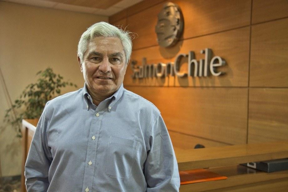 Arturo Clement, presidente de SalmonChile. Foto: SalmonChile.