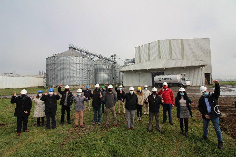 Lanzamiento del programa en instalaciones de planta Alisur en la comuna de San Pablo. Foto: Corfo.
