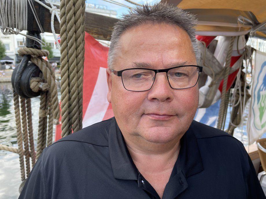 - En av de største dagene i forbundets historie sier Johnny Hansen. Foto: Sigbjørn Larsen.