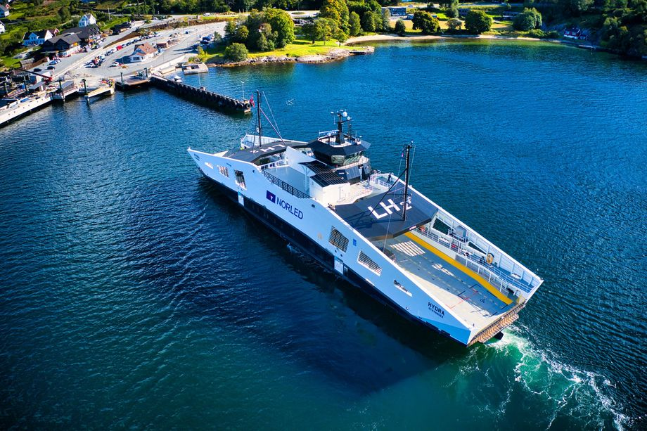 Ship of The Year 2021: MF «Hydra». Foto: Norled