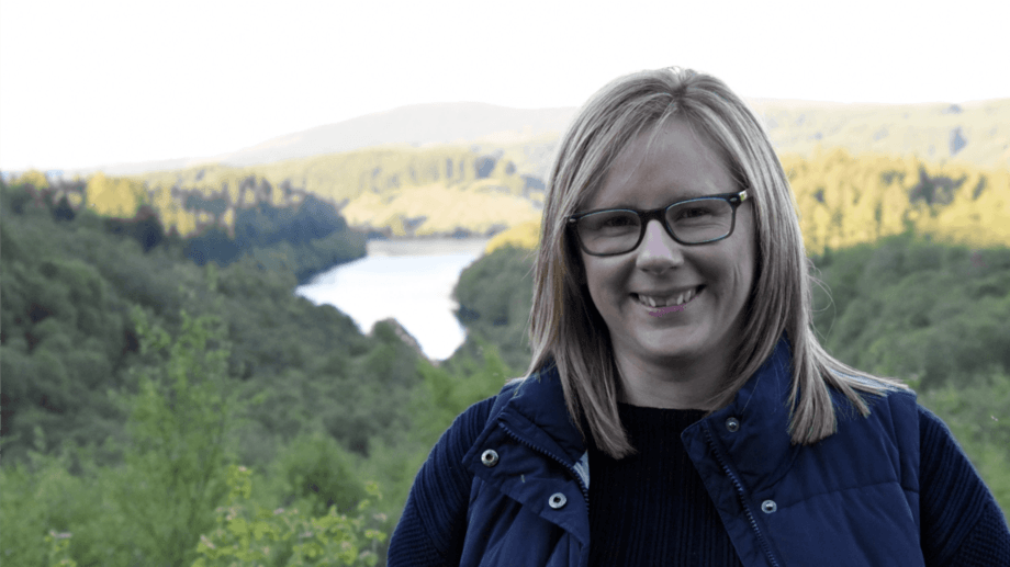Dr Lynne Falconer will lead a team looking at how fish farmers can adapt to climate change. Photo: University of Stirling.