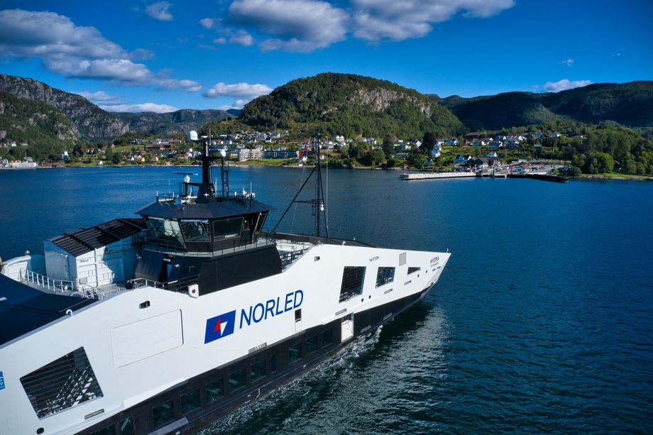 MF «Hydra» er Ship of The Year 2021. Foto: Norled