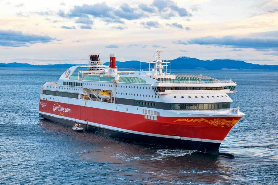 MS «Bergensfjord». Foto: Espen Gees