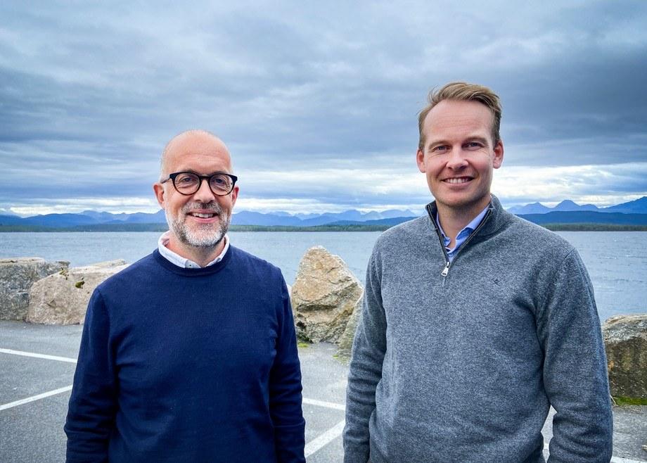 Oddvar Husby y Thomas Brevik. Foto: Maritech.