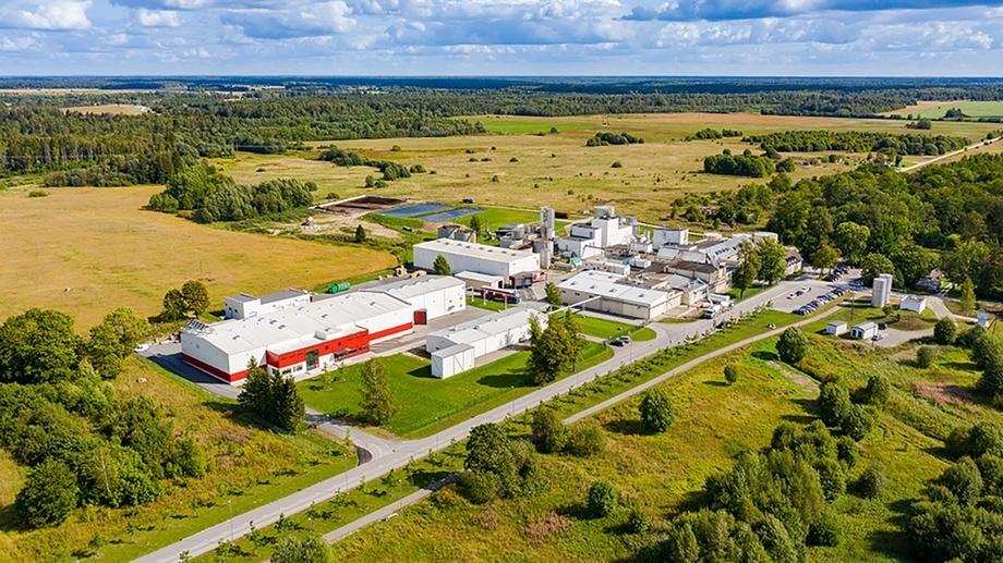 Lallemands gjærproduksjonsanlegg i Salutaguse i Estland, hvor oppskaleringen fant sted. Foto: Lallemand