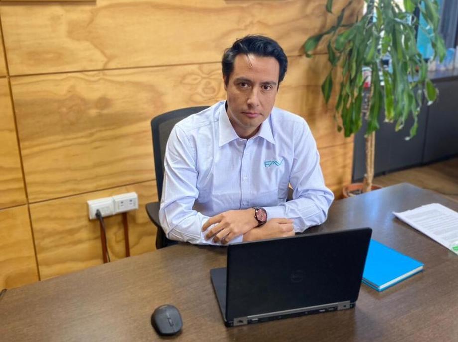 Toro lleva una carrera de más de 10 años en la compañía. Foto: FAV - Aquagestión.