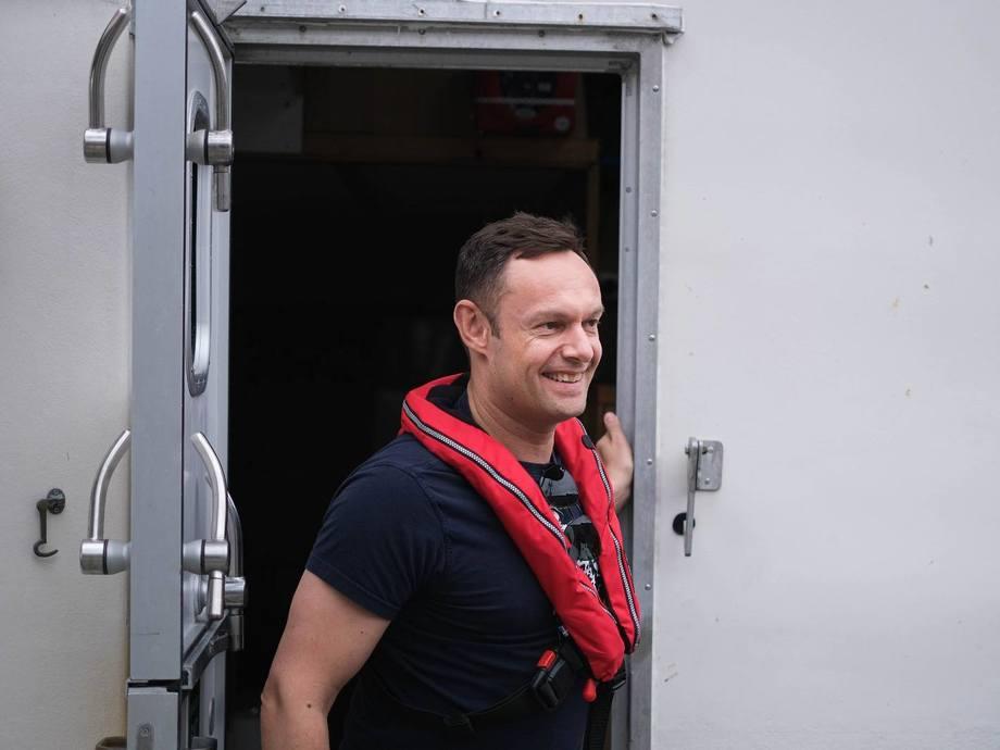 Torgeir Knag Fylkesnes er nestleder i SV. Han lanseres som mulig ny fiskeri- og sjømatminister. Foto: SV