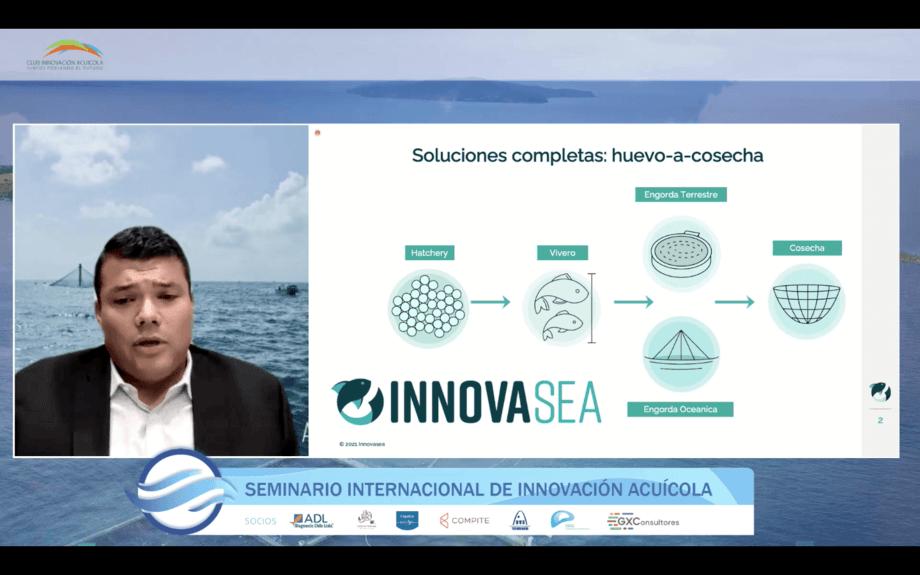 Business Development Manager de Innovasea, Felipe Ramírez.