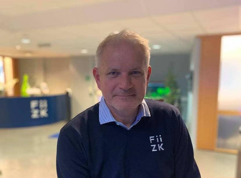 Anders Næss er ny i Fiizk og får ansvar for utviklingsprosjektene på lukket merd. Foto: Fiizk.