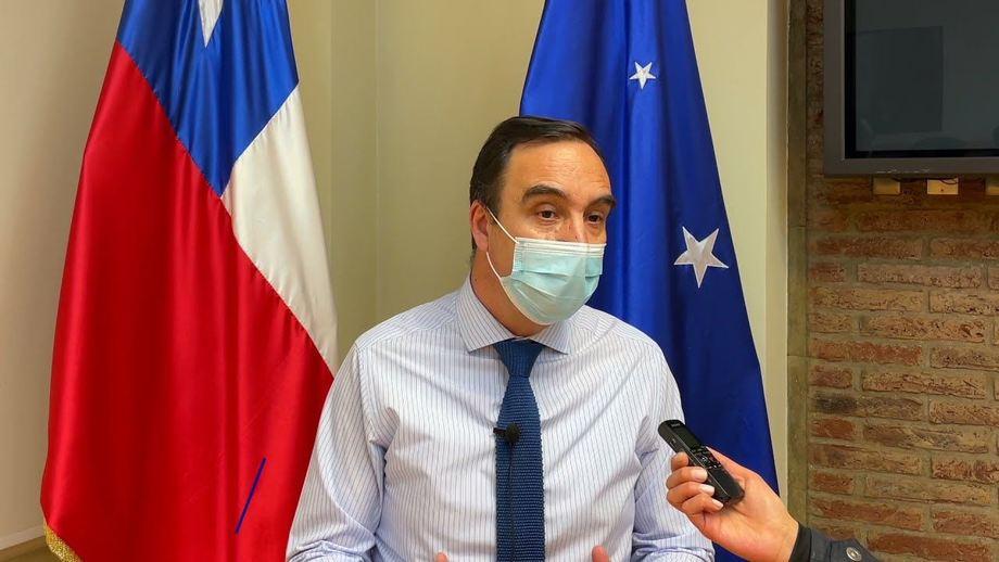 Gobernador de Magallanes, Jorge Flies. Foto: Core Magallanes.