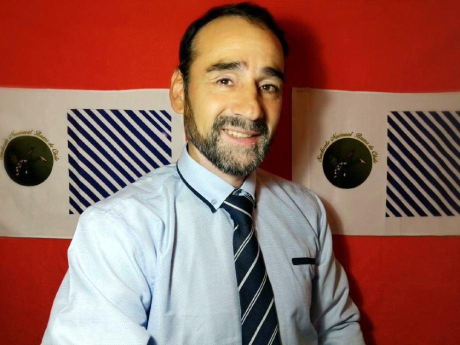 Claudio Faundez, presidente Sindicato Nacional Buzos de Chile. Foto: Cedida.