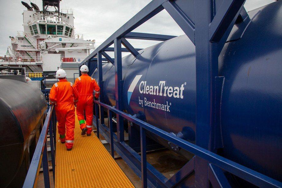 ASC har konkludert med at bruk av CleanTreat-systemet ikke gir noen miljøbelastning. Foto: Benchmark