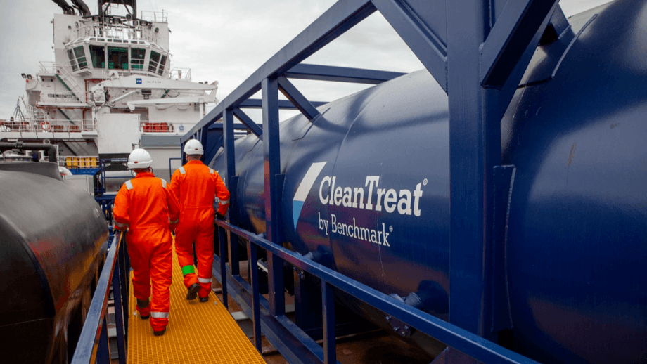 Benchmark has two CleanTreat vessels in operation in Norway. Photo: Benchmark.