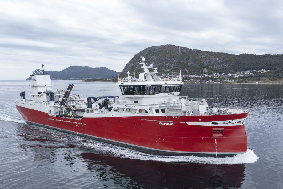 Det nye fartøyet vil gi arbeid til 16 nye sjøfolk. Foto: uavpic.com