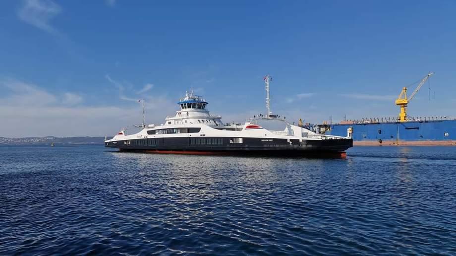 MF «Rødvenfjord» er den sjuende ferjen Tersan har levert til Fjord1.