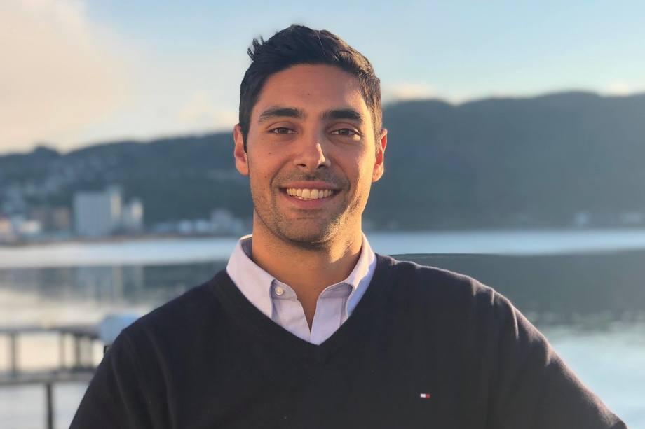 Antes de llegar a Salmonexpert, Gian Paul se desempeñó como subgerente de Marketing en BioMar Chile por casi tres años. Foto: Gian Paul Ricapito.