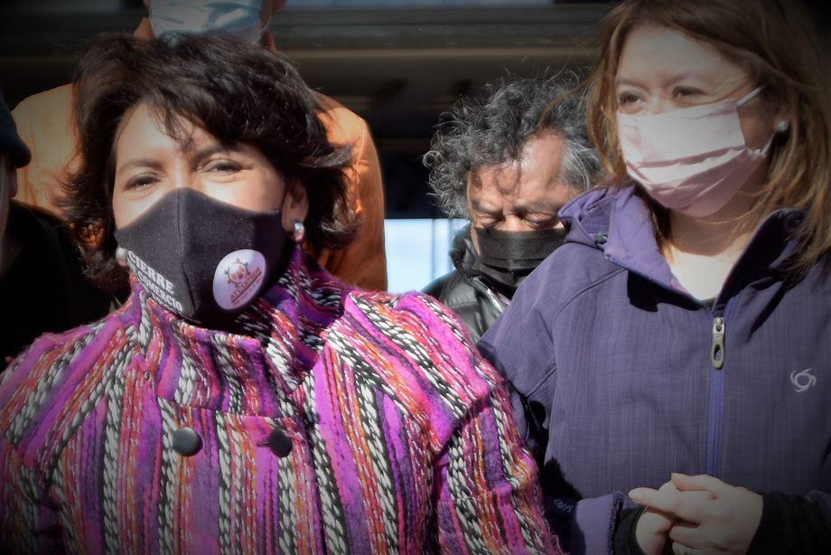 Candidata a la Presidencia de Chile, Yasna Provoste. Foto: Salmonexpert.