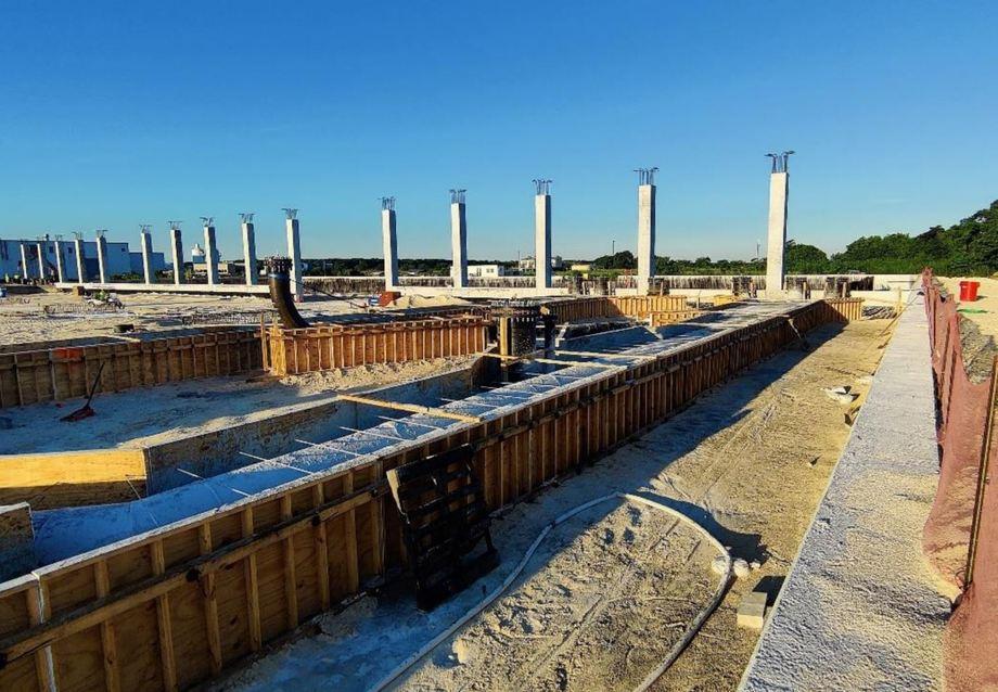 Trabajos para la fase 2 de Atlantic Sapphire en Florida. Foto: Atlantic Sapphire.