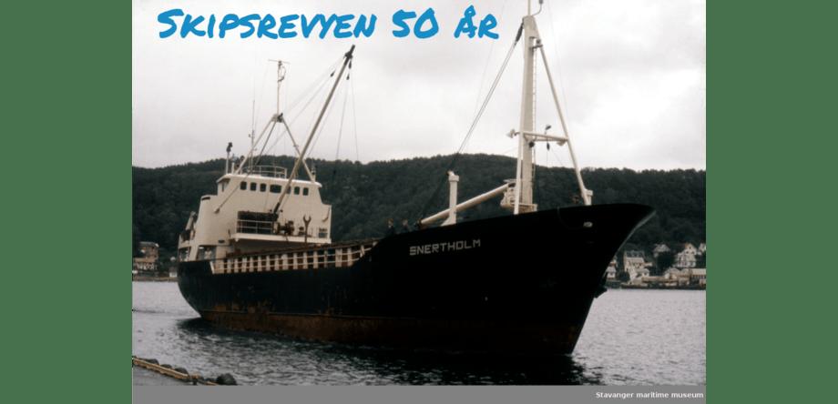 «Snerthold», bygget i 1971, er fremdeles i drift. Foto: Johannes Østvold/Stavanger Maritime Museum