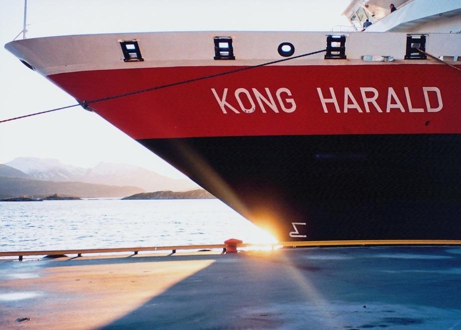 MS «Kong Harald». Foto: Hurtigruten