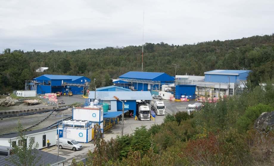 Nuevas instalaciones de Abick en el sector de Bahía Ilque. Foto: Abick.