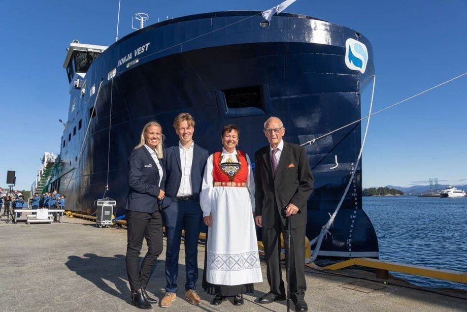 Brønnbåten «Ronja Vest» skal få spesialtilpasset Theromlicer. Her er fartøyet avbildet med fire generasjoner Bolaks. Foto: Bolaks.