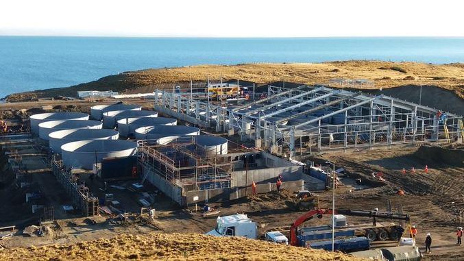 Nova Austral iniciará marcha blanca de su piscicultura en Magallanes a fines de 2018