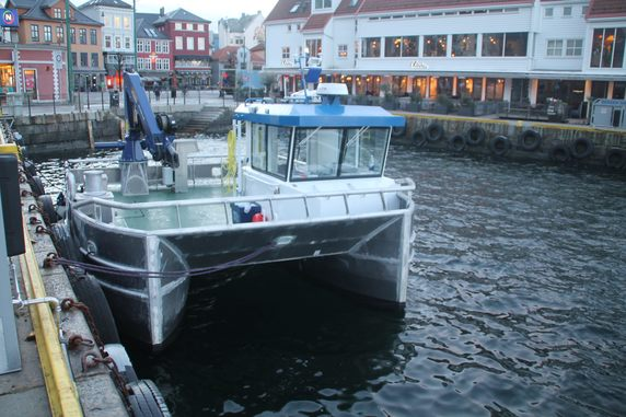 Risnes Marine Craft leverer båt til Osland Havbruk