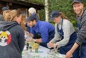 Delte ut over 200 måltider i Misvær