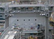 """<p>Fra byggingen av KNM """"Maud"""" i Korea Foto: Forsvarsmateriell</p>"""