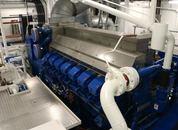 <p>Fremdriftssystemet er diesel-elektrisk. Foto: Andrea B&aelig;rland</p>