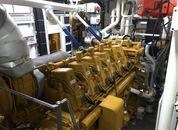 """<p>Med ny hovedmotor fra Caterpillar er """"Johan Hjort"""" blitt hybrid"""". Foto: Andrea Bærland</p>"""