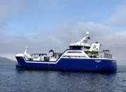 <p>Bygg nr. 62 fra Larsnes Mek. Verksted «Ro Fortune»ble leverttil Rostein ASi mai 2018. Brønnbåten er på 3 500 m3og er bygget på samme tekniske plattform som fartøyene Ro Arctic,Ro Server,Ro NorthogRo West. Foto: Larsnes Mek. Verksted.</p>