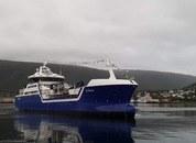 <p>Ro Fortune pyntet til dåp i Tromsø. Foto: Glen Bradley/Rostein.</p>
